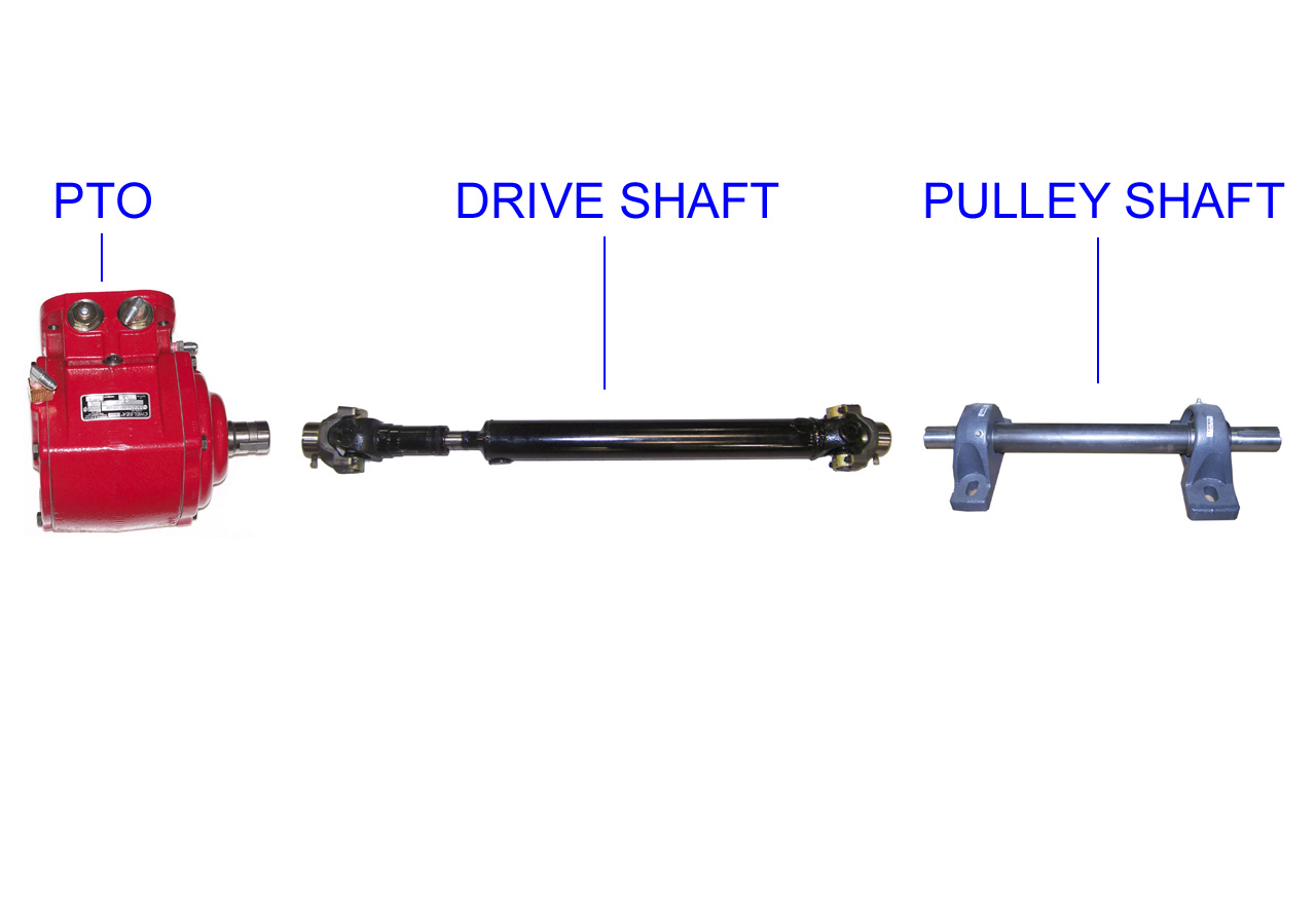 Pto Drive Shaft Bolt : Pto direct drive system specs